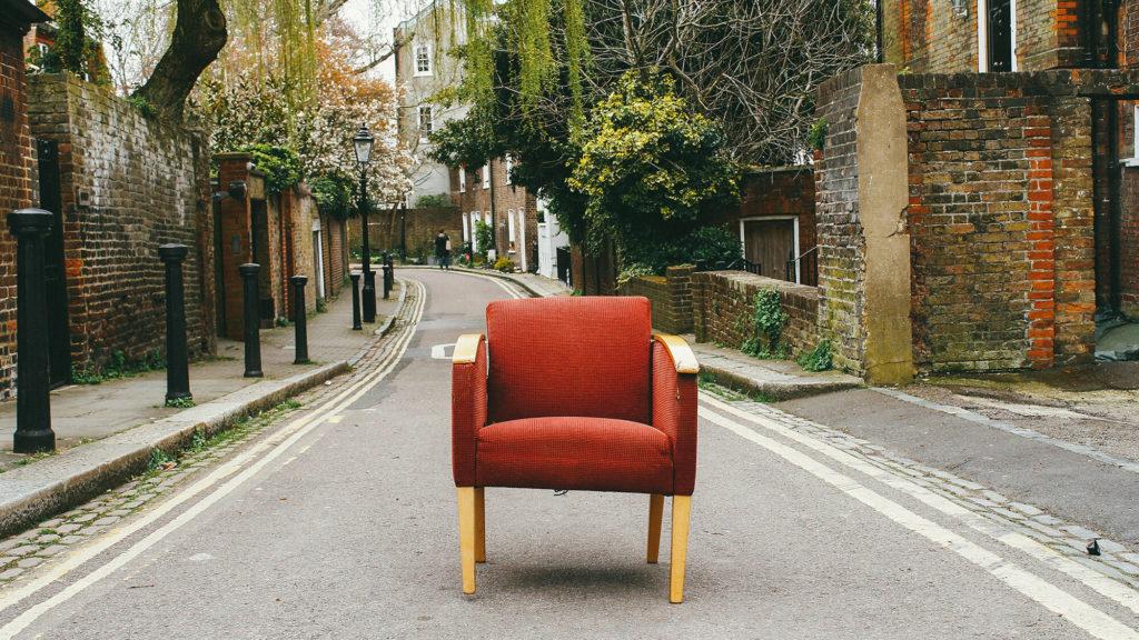 Chair on Street