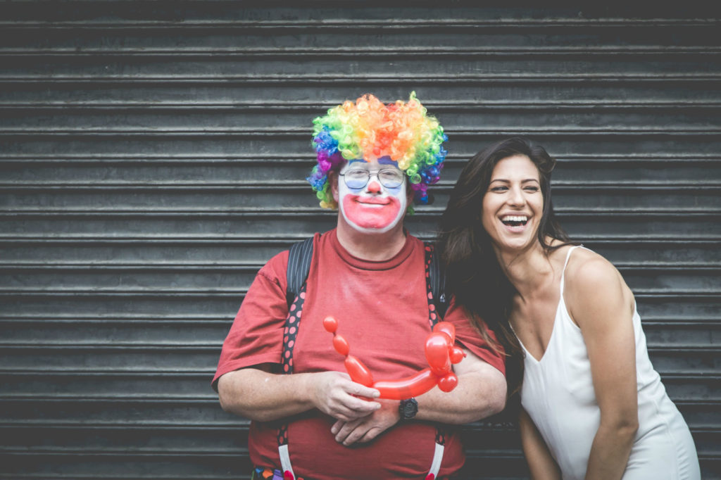 Clown and Person