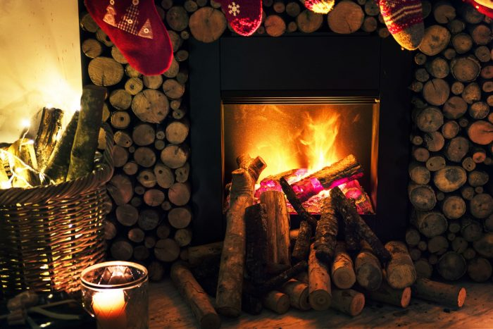 Fireplace Warming a Regina Saskatchewan Home
